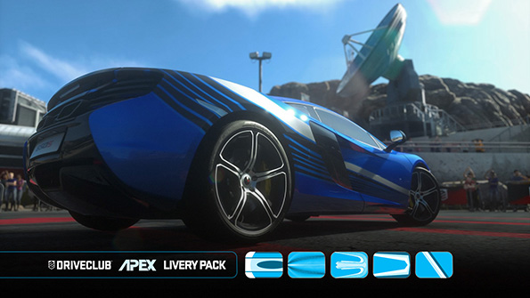 Driveclub Liveries Apex Pack