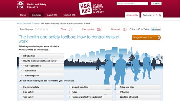 HSE – Toolbox website image treatment